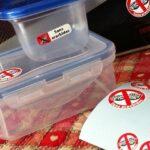 Étiquettes pour les allergies