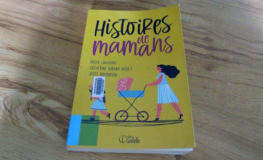 Histoires de mamans - page couverture