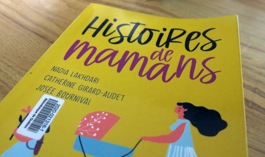 Histoires de mamans, gros plan sur couverture