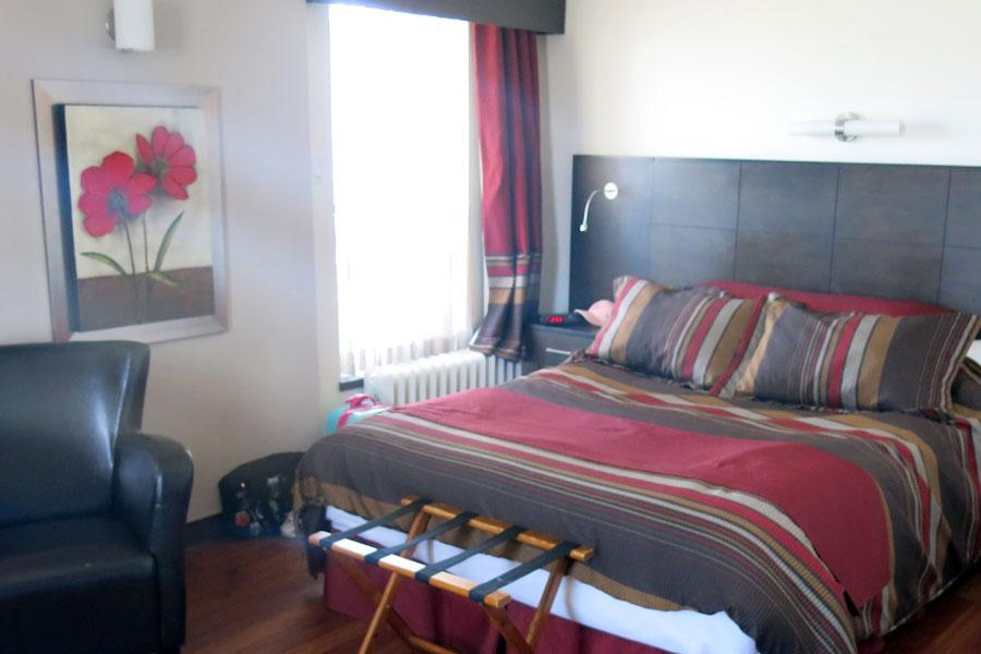Hôtel du Fjord, chambre
