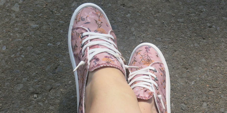 Chaussures pour femme FOAMY II - dans mes pieds.