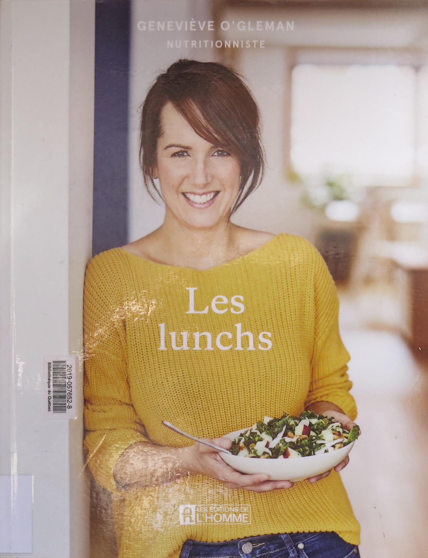 Les lunchs, par Geneviève O'Gleman
